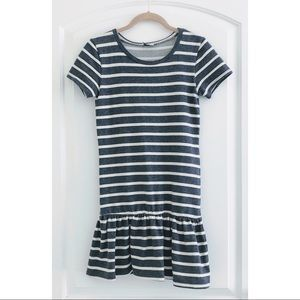 ASOS Petite Dresses - ASOS Petite Peplum Striped Dress